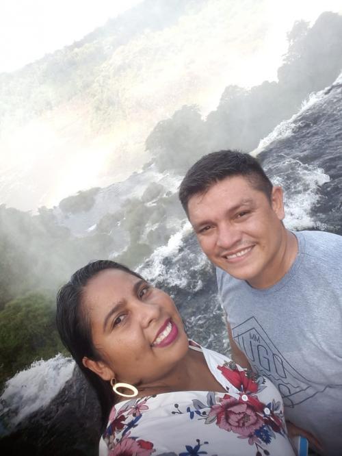 MINHA SELF | Ethel Simas e Paulino Wandrey visitando Foz do Iguaçu (PR)