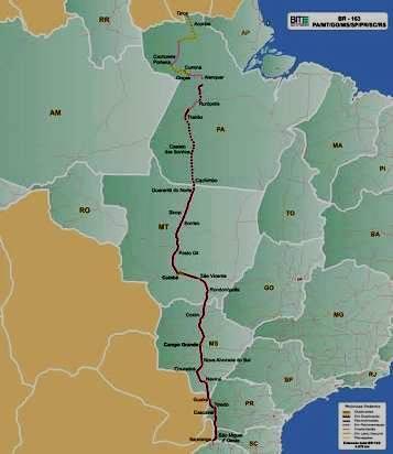 Pacote de obras de Bolsonaro inclui o Pará e deixa o Amazonas de fora