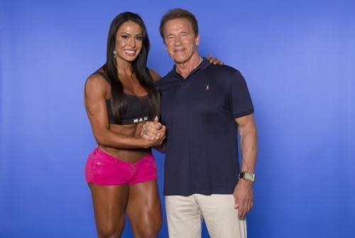 Gracyanne Barbosa diz que trocaria R$ 1 milhão para treinar com Arnold Schwarzenegger
