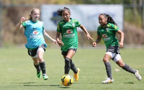 CBF realiza seletiva em Manaus na busca de revelações do futebol feminino