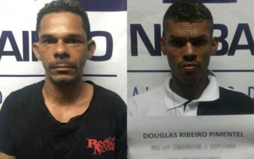 Foragidos de unidades prisionais são recapturados no Centro de Manaus