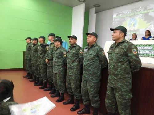 IPAAM e Batalhão Ambiental formam turma do curso de Policiamento Ambiental