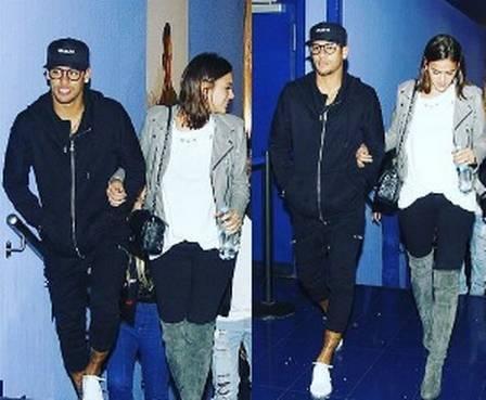 Neymar curte cinema com Bruna Marquezine em Barcelona